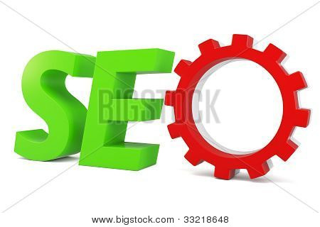3D Seo Search Engine Gears