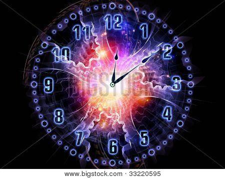 Universo de reloj
