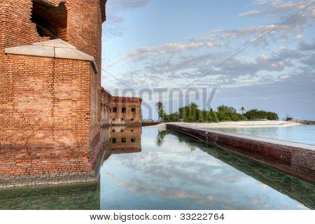 HDR of Fort Jefferson
