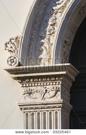 Renata di Francia Palace. Ferrara. Emilia-Romagna. Italy.