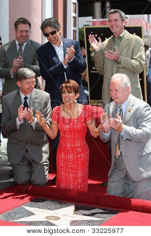 LOS ANGELES - MAY 22: Ray Romano, Patricia Heaton, Neil Flynn, Leron Gubler, Tom LaBon honoring Patricia Heaton with a Star on The Hollywood Walk of Fame on May 22, 2012 in Los Angeles, California