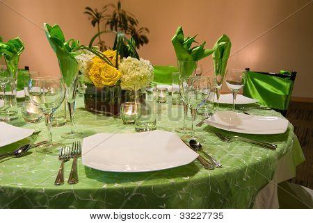 Banquete / ajuste de la mesa Formal
