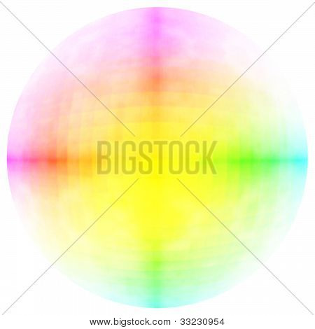 color circle abstract