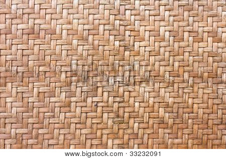 Handcraft Weave Texture Bambool Wicker