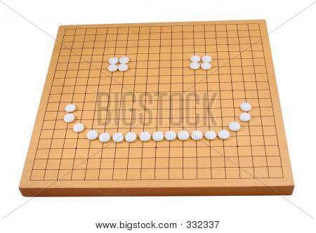 Go Board - White Smiley