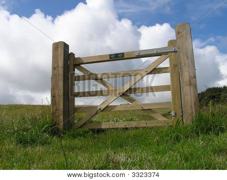 Gateway With No Fence