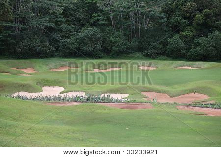 Golf Traps, Country Golf Course