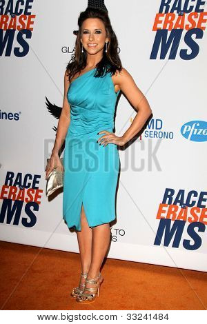 LOS ANGELES - MAY 18:  Lacey Chabert arrives at the 19th Annual Race to Erase MS gala at Century Plaza Hotel on May 18, 2012 in Century City, CA
