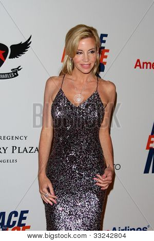 LOS ANGELES - MAY 18:  Camille Grammer arrives at the 19th Annual Race to Erase MS gala at Century Plaza Hotel on May 18, 2012 in Century City, CA