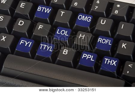 Text Message Keyboard
