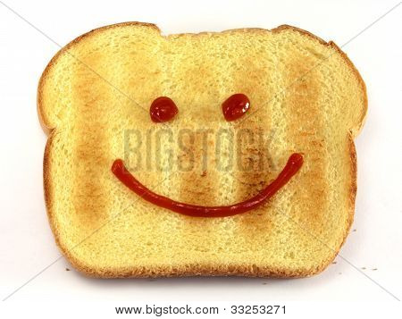 Bread With Happy Face