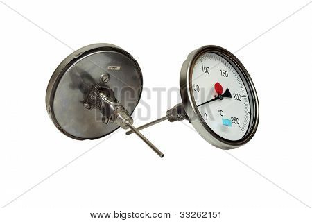 Industrial thermometer.