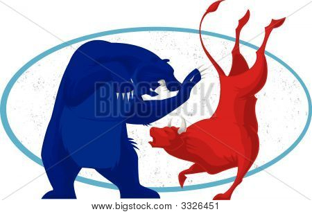 Toro y oso