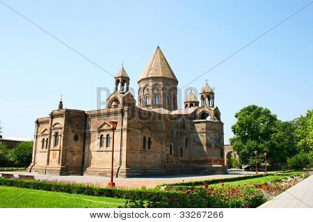 Antigua iglesia apostólica en Armenia