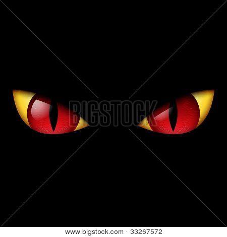 Evil Red Eye