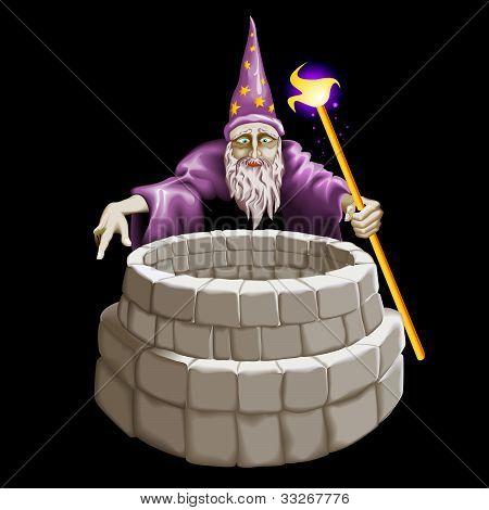 Bom mágico e um poço