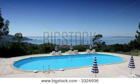 Poolside At Le Lavandou