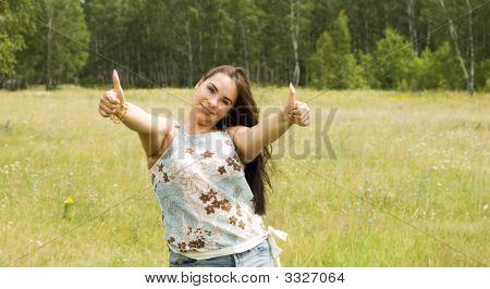 Gesticulation Woman