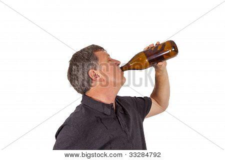 Drinking Man