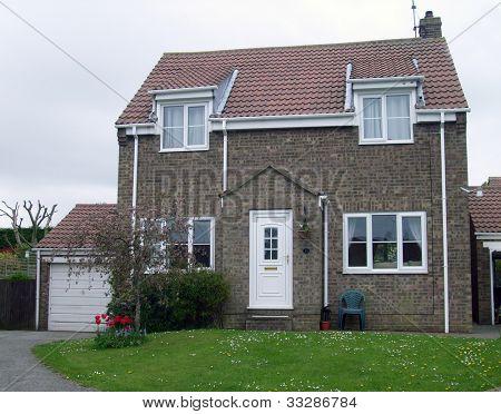 Modern suburban house in England