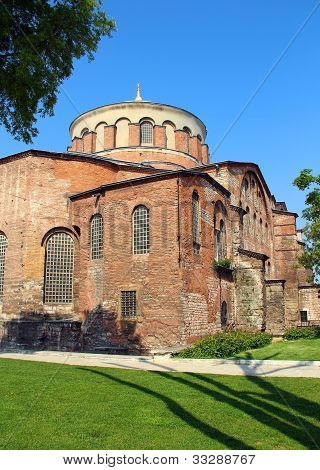 Aya Irini Church In Istanbul, Turkey