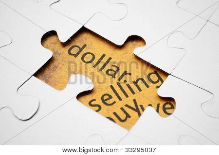 Dólar quebra-cabeça