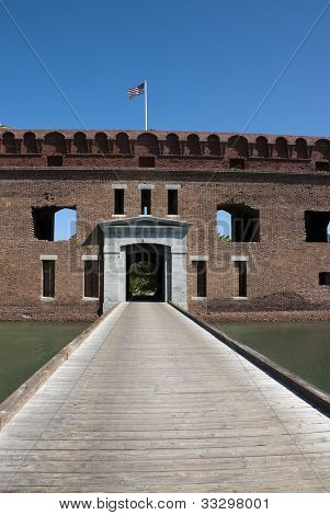 Entrance to the Fort Jefferson