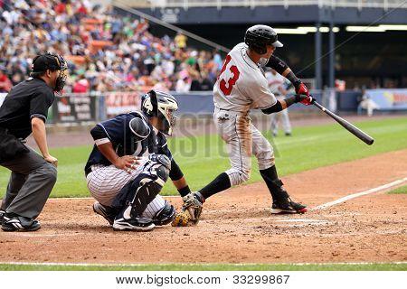 Indianapolis Indians center fielder Gorkys Hernandez