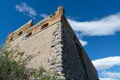 Old Venetian Fortress On Hilltop In Beautiful Greek Town Nafplio, Peloponnese, Greece poster