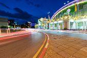 Bangkok Railway Station At Night In Bangkok, Thailand. poster