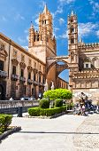 foto of minister  - The Cathedral of Palermo is an architectural complex in Palermo  - JPG