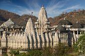 Ranakpur Jain Temple Or Chaturmukha, Dharana, Vihara, Is A Jain Temple At Ranakpur poster