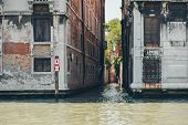 Venice Grand Canal (canal Grande). Beautiful Ancient Architecture. Narrow Street. poster