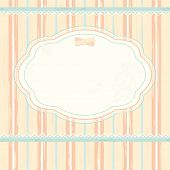 foto of shabby chic  - Vector background in shabby chic style - JPG