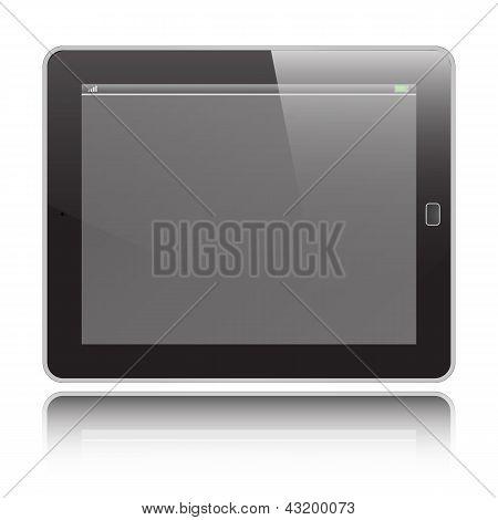 Tablet Horizontal Vector