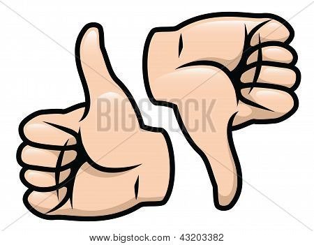 Thumbs Up Thumbs Down