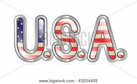 U.S.A. Banner