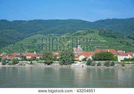 Wachau Valley near Aggsbach,Austria