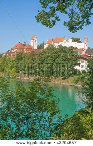 Fuessen im Allgaeu,Bavaria,Germany