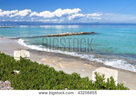 Kallithea summer resort in Greece