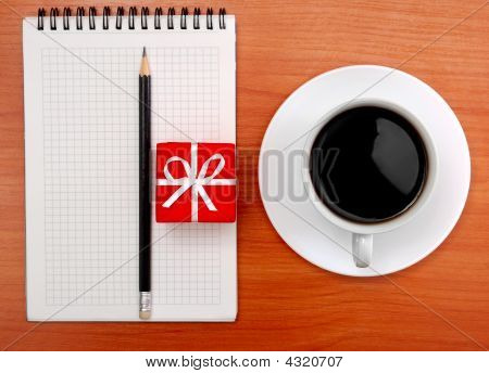 Coffee Note Pencil Gift1