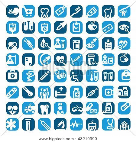 Big Color Medical Icons