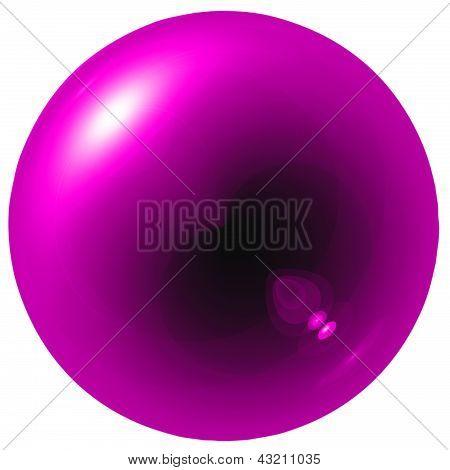Glare Pink Ball