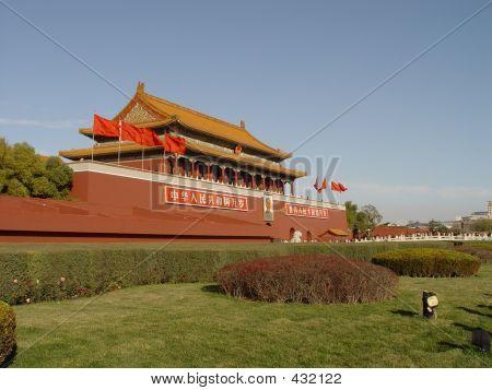 poster of Forbiden City Beijing China