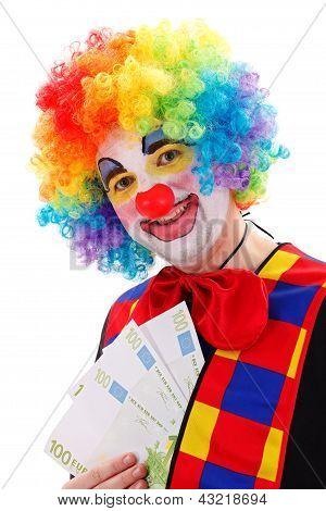 Clown Ergebnis viel Geld