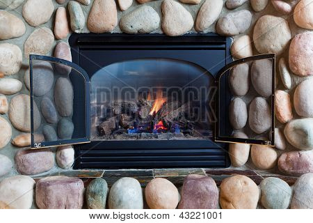 Fireplace Close-up