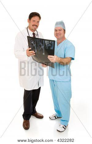 Doctors With Mri Full Body