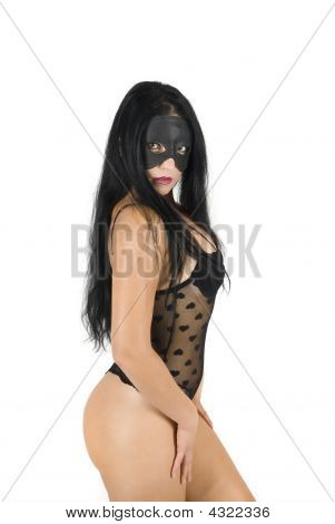 Sexy Woman With Mask