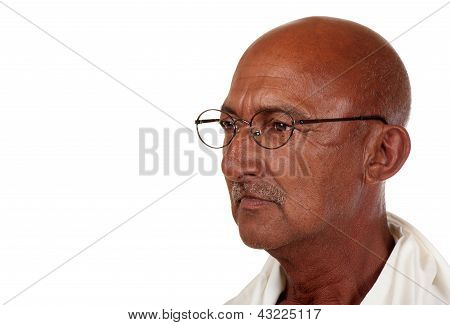Pensive Senior