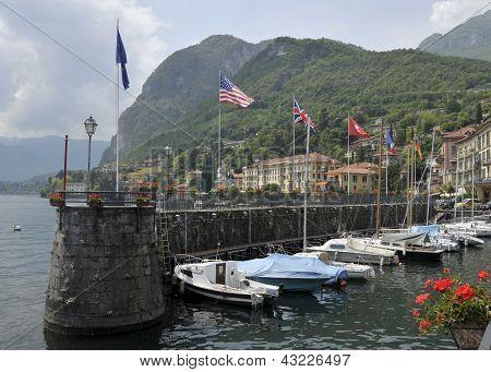 Menaggio harbour, Lake Como